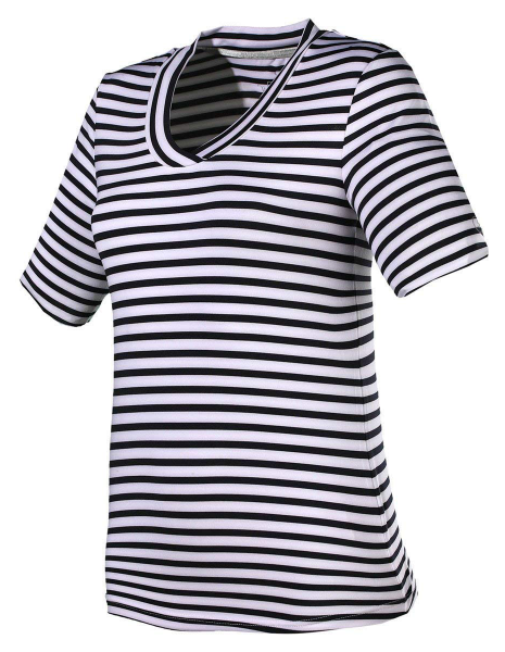 Shirt Silke - White and Stripes