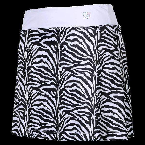 Skort Shirin Zebra - White-Black-Zebra