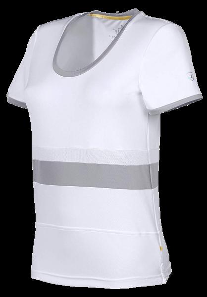 Shirt Seine - White-Silver Scone