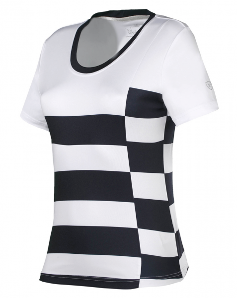 Shirt Sayla - White and Stripes