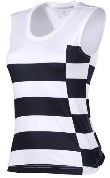 Top Tuula - White and Stripes